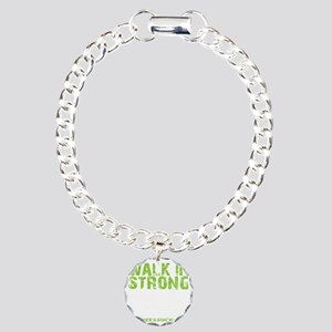 WALK IN STRONG CRAWL OUT Charm Bracelet, One Charm