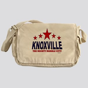 Knoxville The Mighty Marble City Messenger Bag