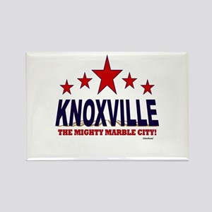 Knoxville The Mighty Marble City Rectangle Magnet