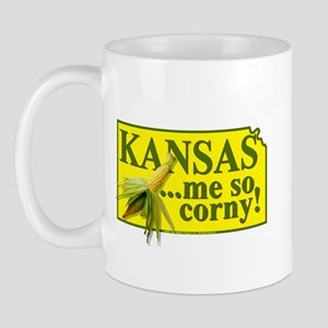 Kansas- Me So Corny! Mug