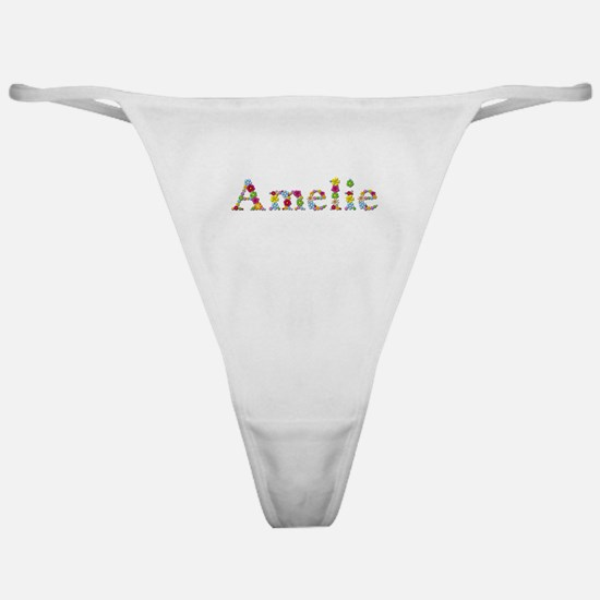 Amelie Bright Flowers Classic Thong
