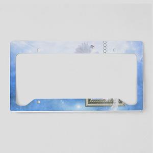 Peace Dove 2 License Plate Holder