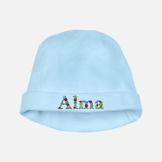 Alma Bright Flowers baby hat