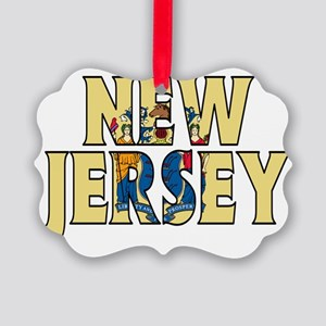 New Jersey Picture Ornament