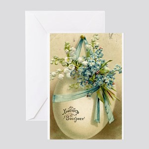 Russian easter greeting cards cafepress vintage easter russuan postcard greeting cards m4hsunfo
