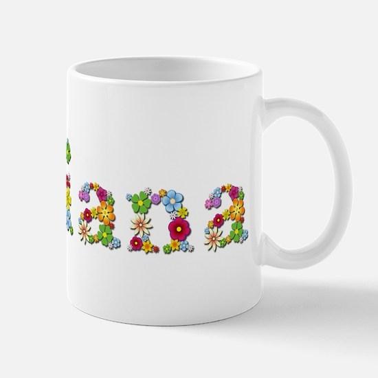 Adriana Bright Flowers Mugs