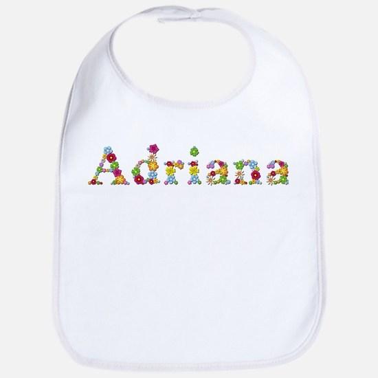 Adriana Bright Flowers Bib