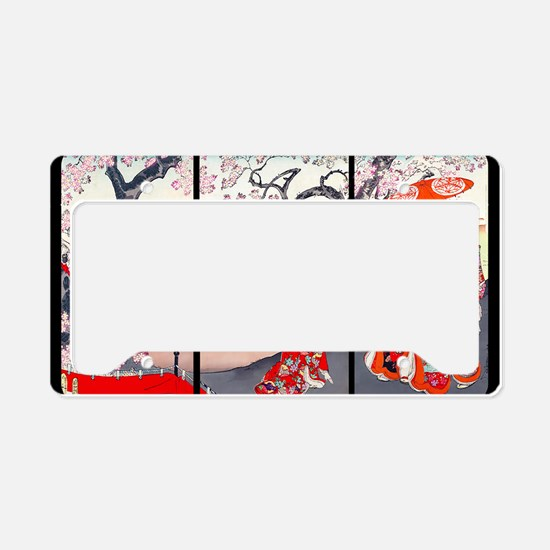 13 IN laptop sleeve Cherry Bl License Plate Holder