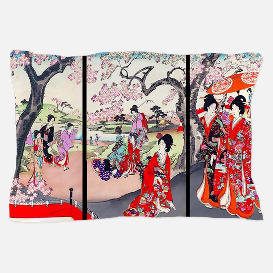 13 IN laptop sleeve Cherry Blossom Tim Pillow Case