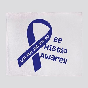 BeHistioAware Throw Blanket