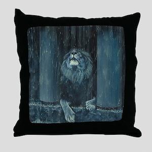 Kiss the Rain Throw Pillow