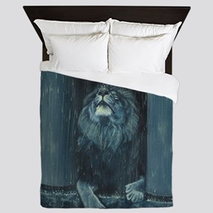 Kiss the Rain Queen Duvet
