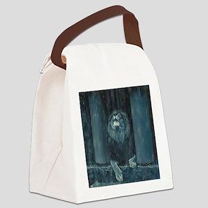 Kiss the Rain Canvas Lunch Bag