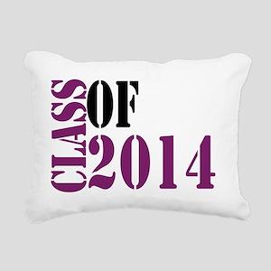 Class of 2014  Rectangular Canvas Pillow