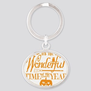 Most Wonderful (orange) Oval Keychain