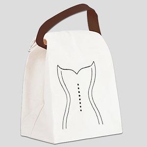 Wedding Dress Canvas Lunch Bag