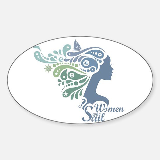 Woman Who Sail Logo Decal