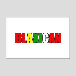 Blaxican Mini Poster Print