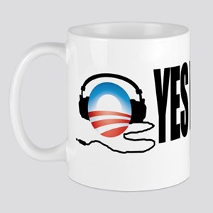 Yes We Scan Anti Obama Anti NSA Snoopin Mug