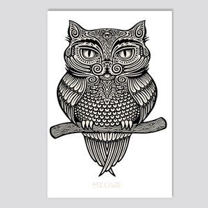 meowl-DKT Postcards (Package of 8)