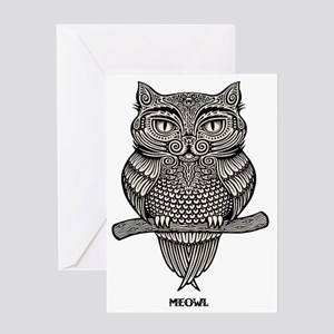 meowl-LTT Greeting Card