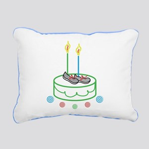 Runners Birthday Rectangular Canvas Pillow