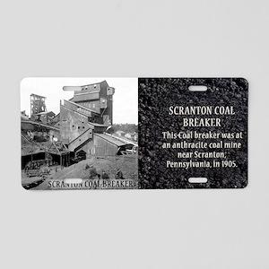 Scranton Coal Breaker Histo Aluminum License Plate