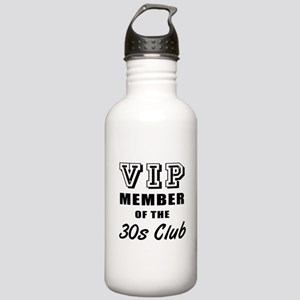 30's Club Birthday Stainless Water Bottle 1.0L