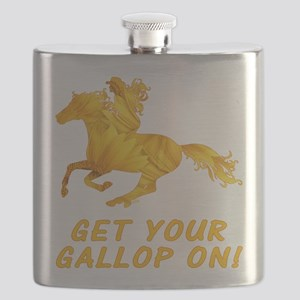 Horse Gallop On Flask