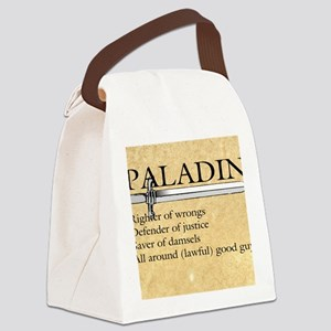 Paladin - Lawful good guy Canvas Lunch Bag