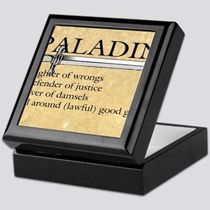 Paladin - Lawful good guy Keepsake Box