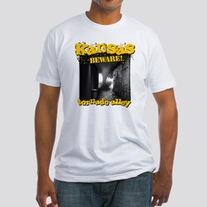 Tornado Alley Fitted T-Shirt