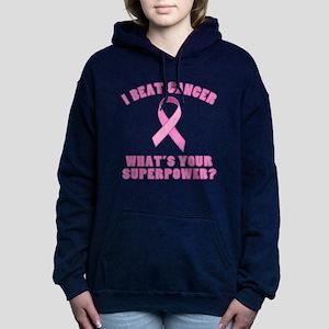 Beat Cancer Superpower Hooded Sweatshirt