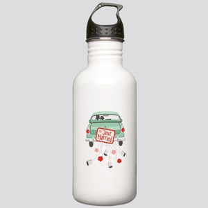 Just Married Car Water Bottle