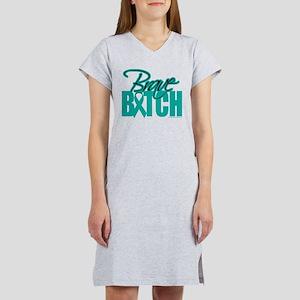 Brave Bitch Cervical Cancer T-Shirt