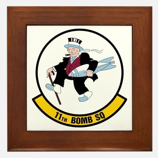 USAF: 11th Bomb Squadron Framed Tile