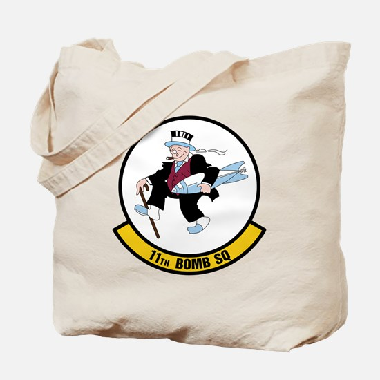 USAF: 11th Bomb Squadron Tote Bag