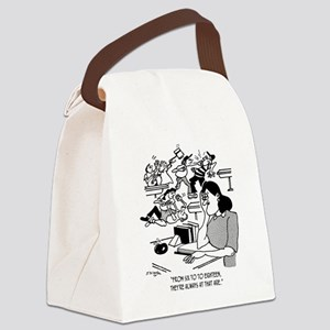 Kids Are Always At That Age Canvas Lunch Bag