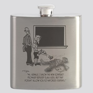 Vaporize Students To Reduce Class Size Flask