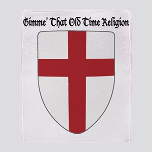 Gimme That Old Time Religion Throw Blanket