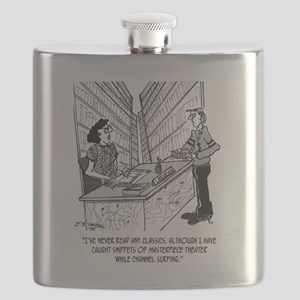 Channel Surfing the Classics Flask