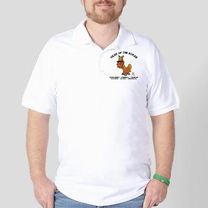 horseA68light Golf Shirt