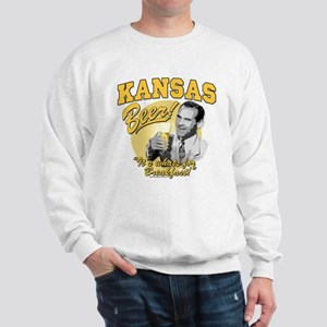 Kansas Beer For Breakfast Sweatshirt