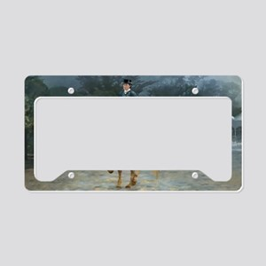 PB Piaffe Dressage Horse License Plate Holder