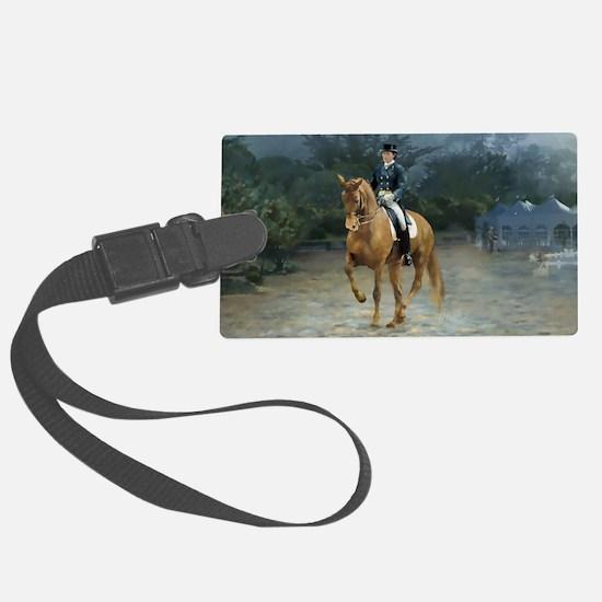 PB Piaffe Dressage Horse Luggage Tag