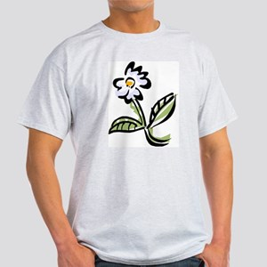 WHITE FLOWER -6- Light T-Shirt
