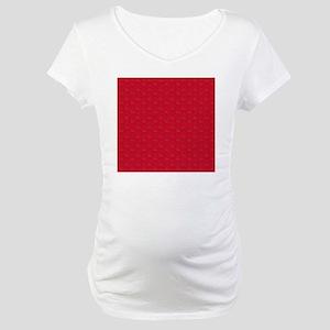 I Heart Bacon All Over 2R Maternity T-Shirt
