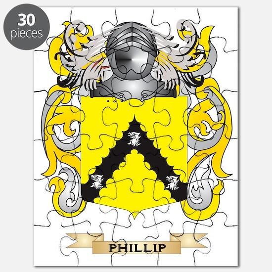 Phillip Coat of Arms (Family Crest) Puzzle