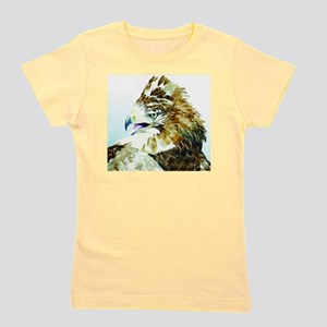 Red-tail Watercolor Girl's Tee