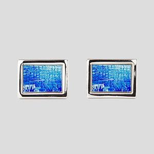 Electric Blue  Cufflinks